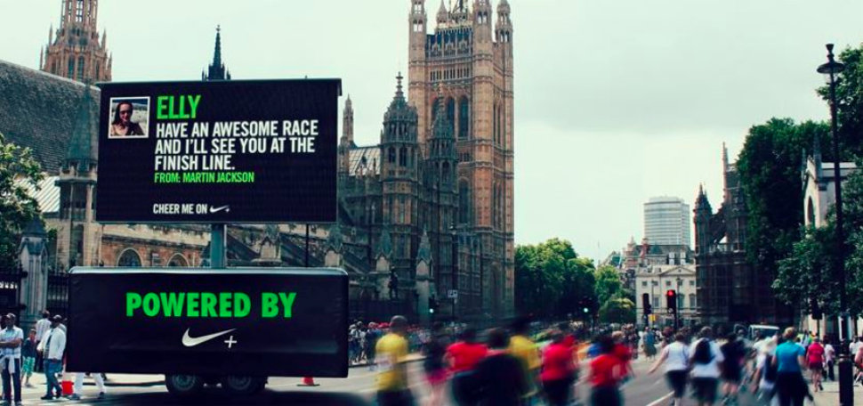 british 10k facebook and nike lets friends cheer you on live as you race image 1