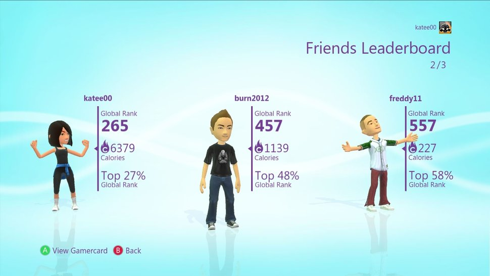 Microsoft releases free Kinect PlayFit, the Xbox 360 dashboard