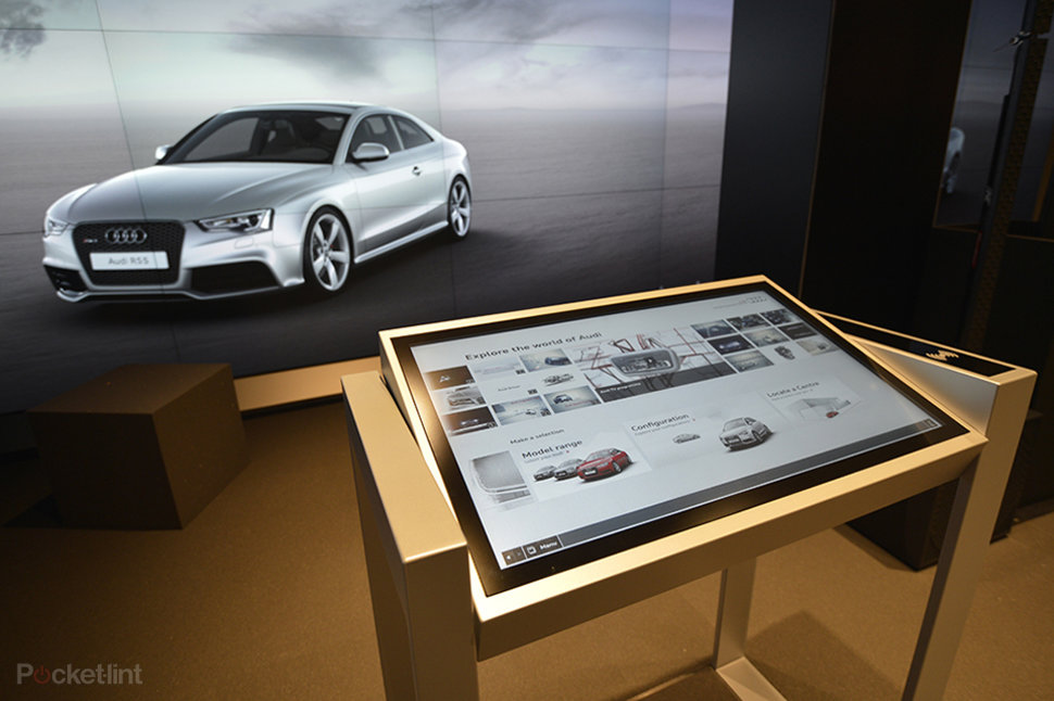 Audi City Cyberstore Build Your Own Virtual Audi To Drive Away - Audi build your own