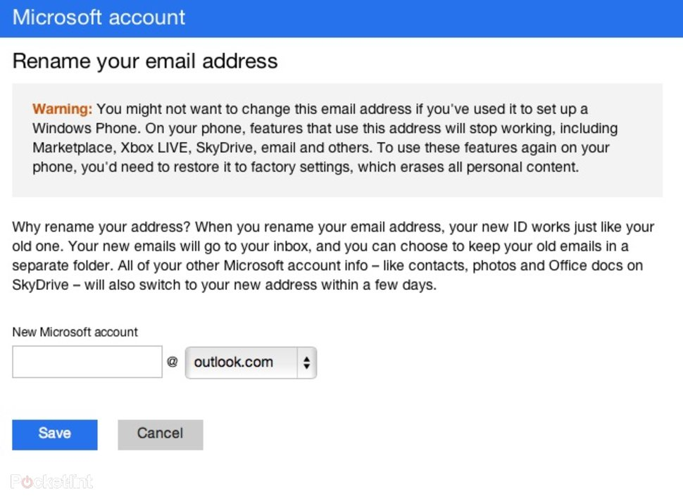 How to make outlook without phone number