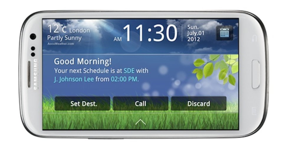 Samsung Galaxy S III gets Drive Link app with MirrorLink compat