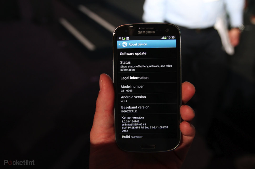 EE confirms Jelly Bean update for Samsung Galaxy S3, and