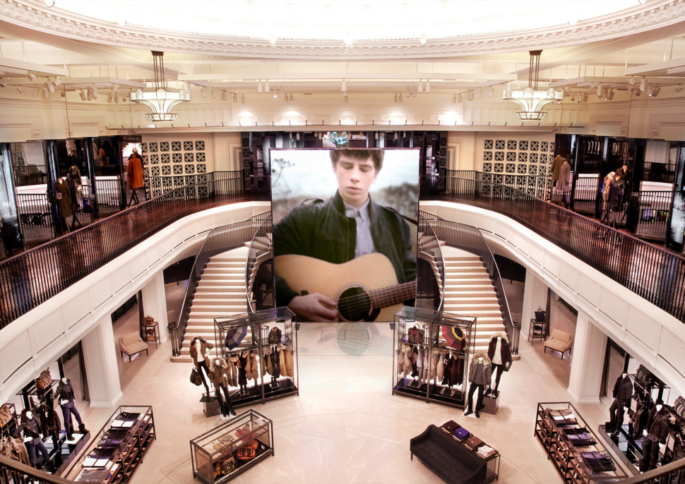 The Burberry flagship store that makes the Apple Store look Vic