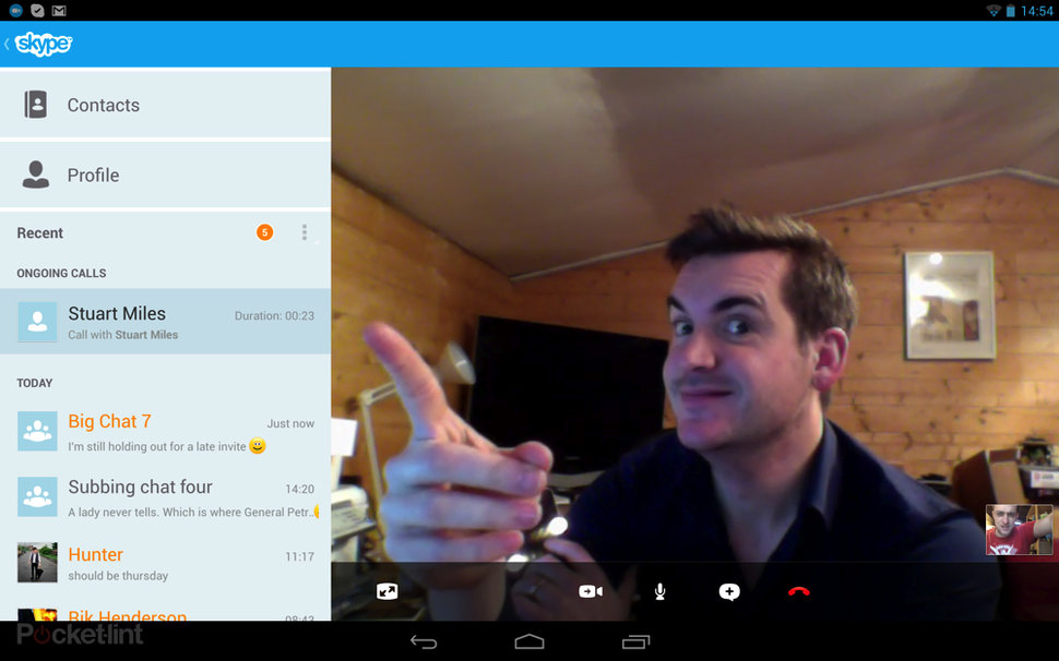 Skype for Android 3 0 brings tablet optimisation, improved qual
