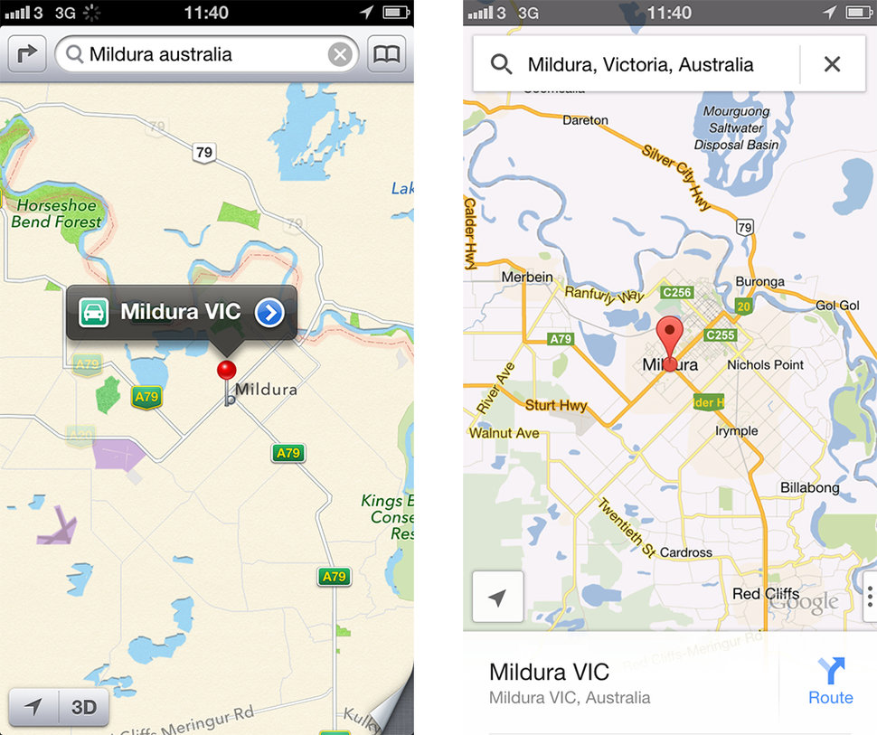 Google Maps for iPhone explored on android map, microsoft map, 3m map, venice venice louisianna bay map, mobile map, java map, click map, google map, at&t map, greater china map,