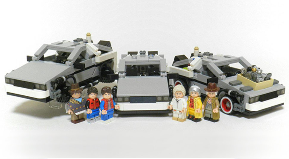 Back To The Future To Get The Lego Treatment Delorean Set