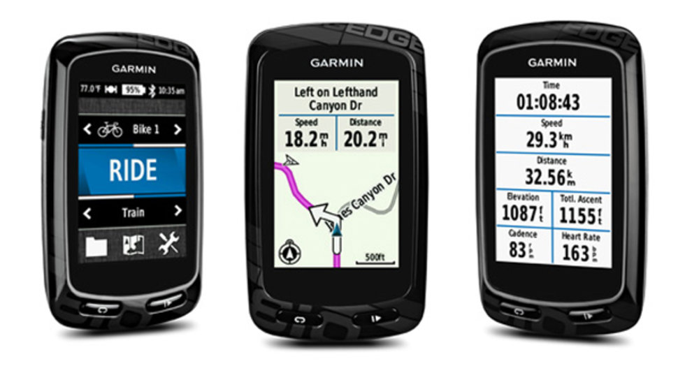Garmin Edge 810 and 510 cycle computers track your ride, keep y