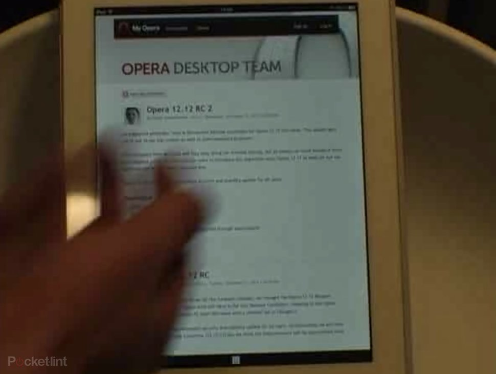 opera ice new browser for android and iphone coming february uses webkit video  image 1
