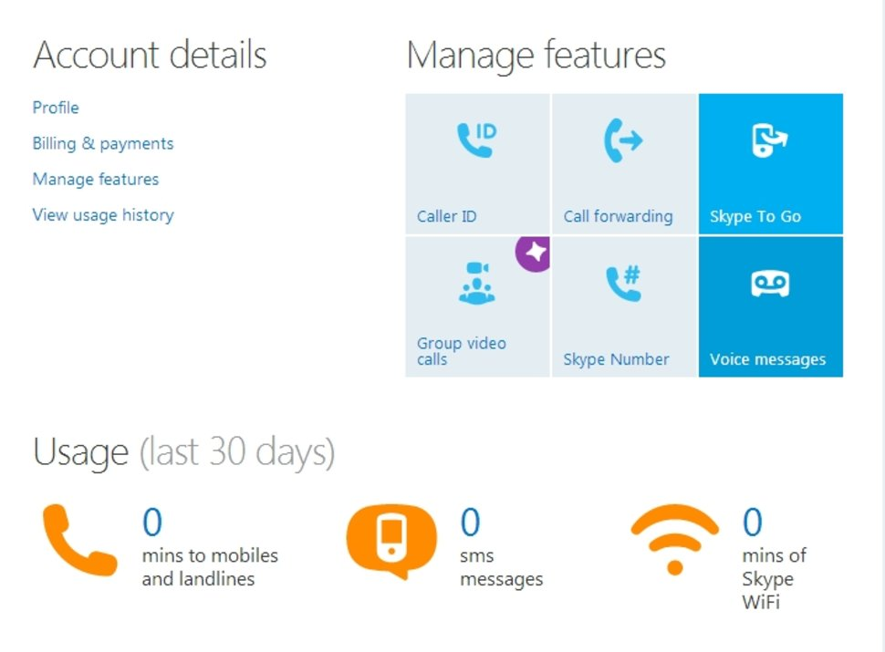 Secret Skype: Voice messages and SMS