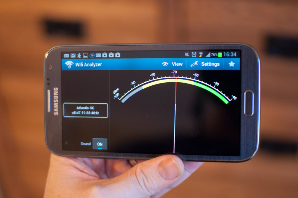 Android Wifi Analyzer : App of the day wifi analyzer review android pocket lint