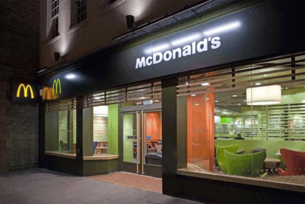 mcdonald s market position