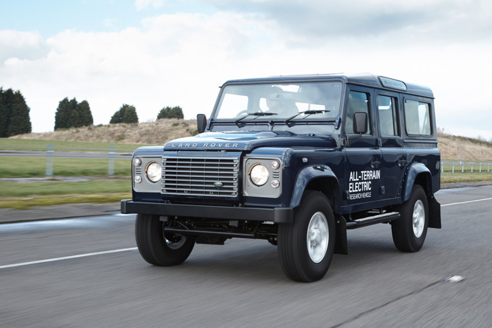 Land Rover Electric Defender Research Vehicle Unveiled At Geneva Motor Show