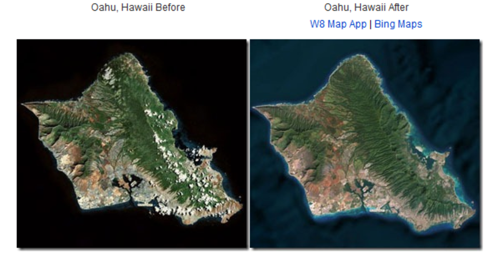 bing maps improved with high resolution satellite imagery and ocean typography image 2