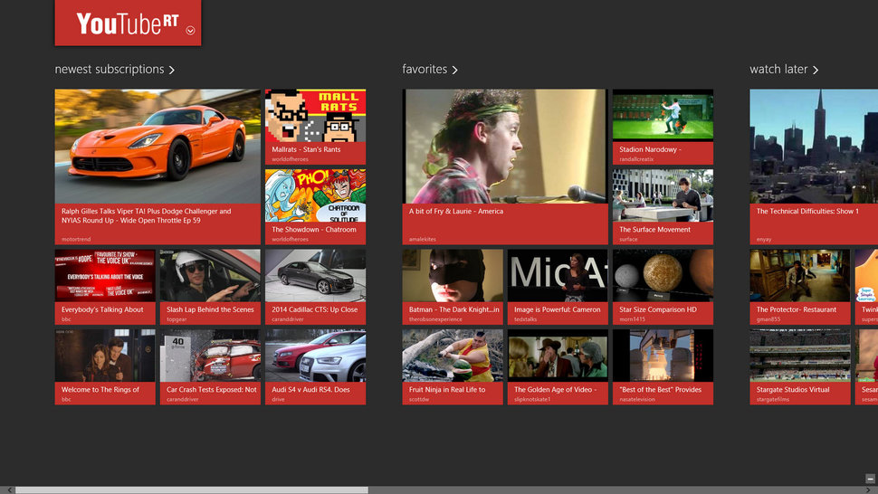 App of the day: YouTube RT review (Windows 8) - Pocket-lint