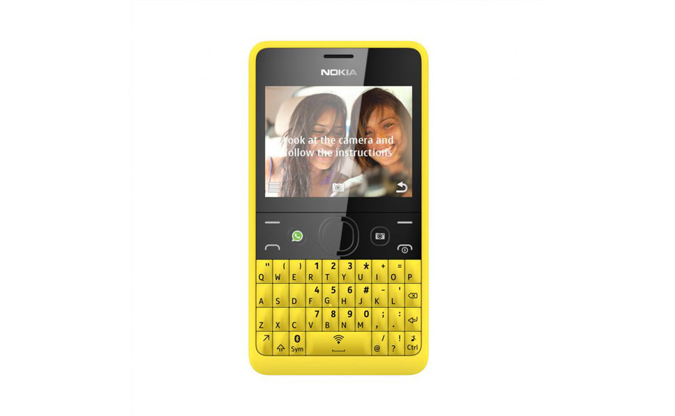 Nokia Asha 210 official, Qwerty keyboard Symbian fun on a budge