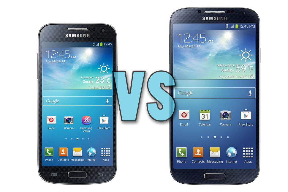 Samsung Galaxy S4 Mini vs Galaxy S4: What's the difference ...