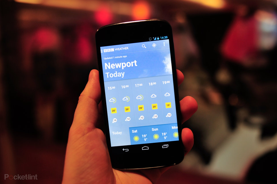 BBC Weather app brings the forecast to your Android or iPhone -
