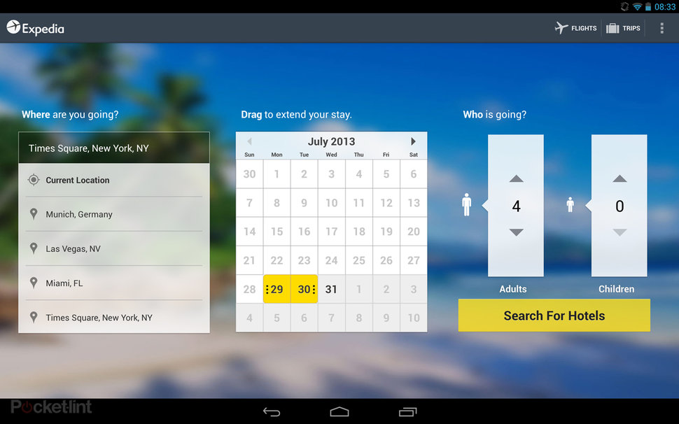 App Of The Day Expedia Review Android Image 2
