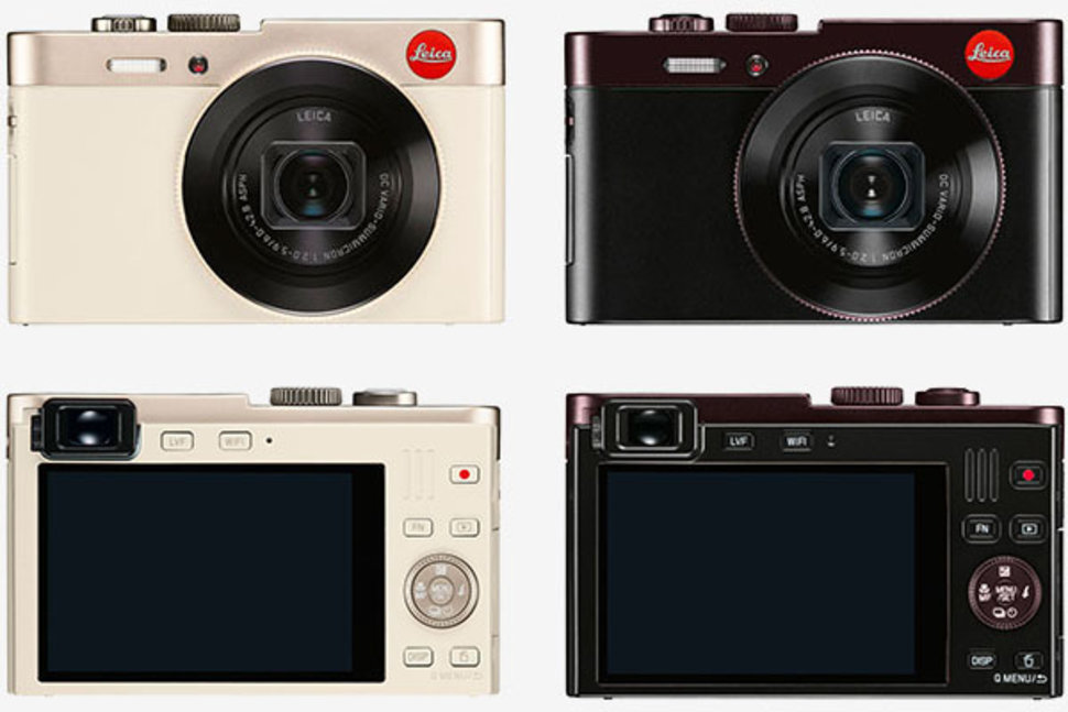 Leica C: the new digital compact camera packs Audi Design ...