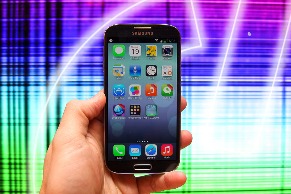 Want your Android to look like iOS 7? There's an app for that -