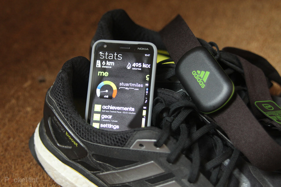 adidas micoach windows phone 8 with adidas heart rate monitor review image 1