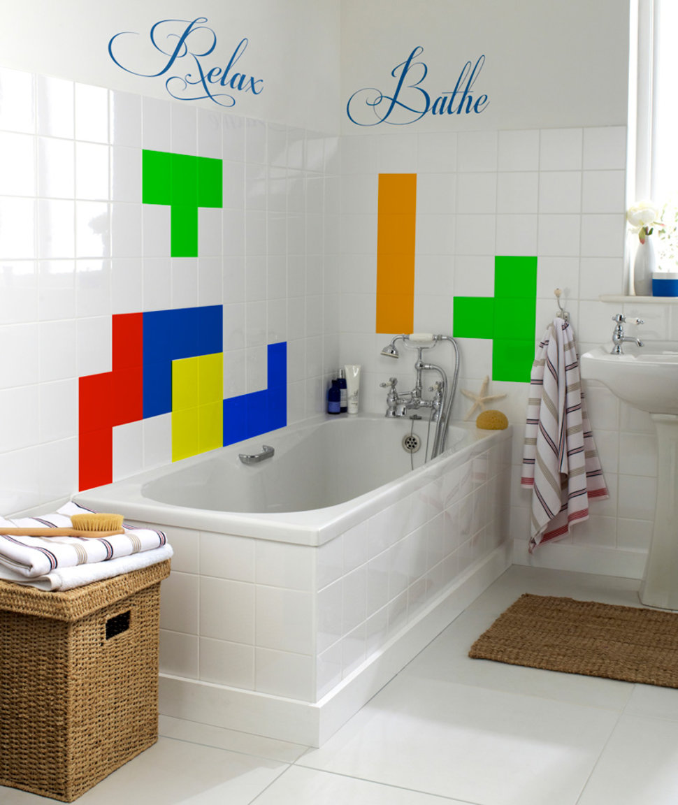 Cool Retro Bathrooms topps tiles celebrates gaming milestones with super-cool retro 8