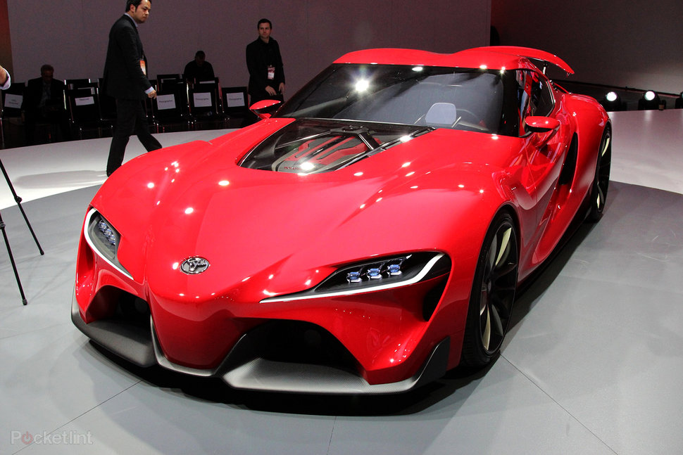 Toyota FT-1: Gran Turismo 6 Concept Car Makes Real-word