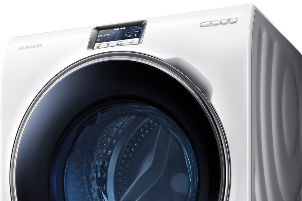 samsung 39 s ww9000 smart washing machine lets you control your laundry remotely pocket lint. Black Bedroom Furniture Sets. Home Design Ideas
