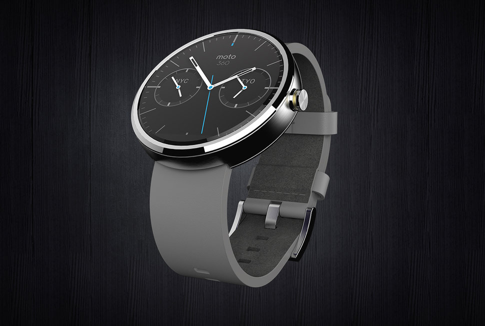 moto android watch. moto 360 motorola unveils its android wear smartwatch and it s round image 2 watch o