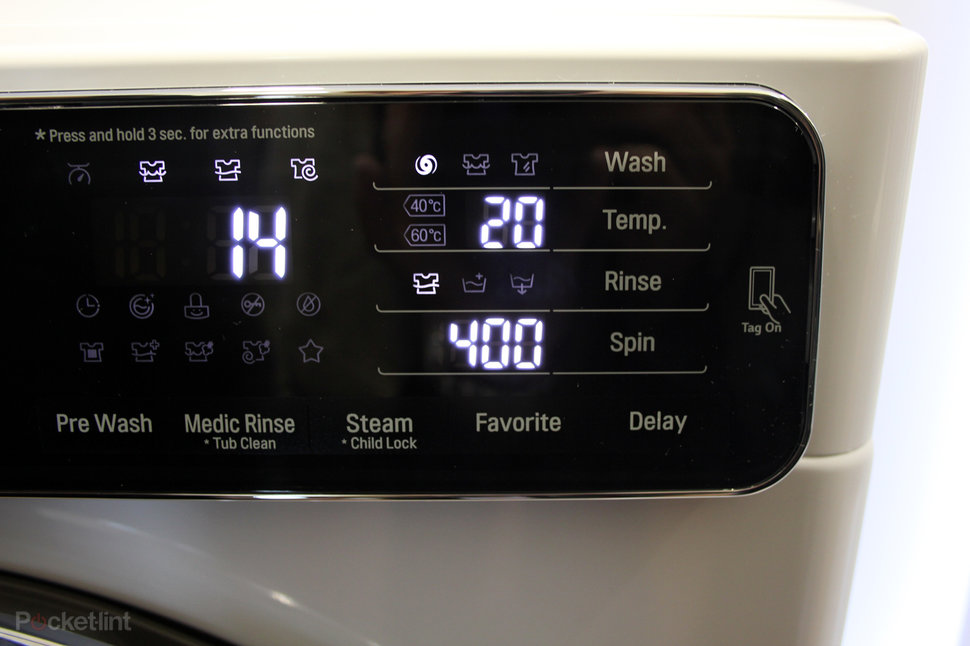 Lgs New Washing Machines Use Nfc To Offer More Programmes Via