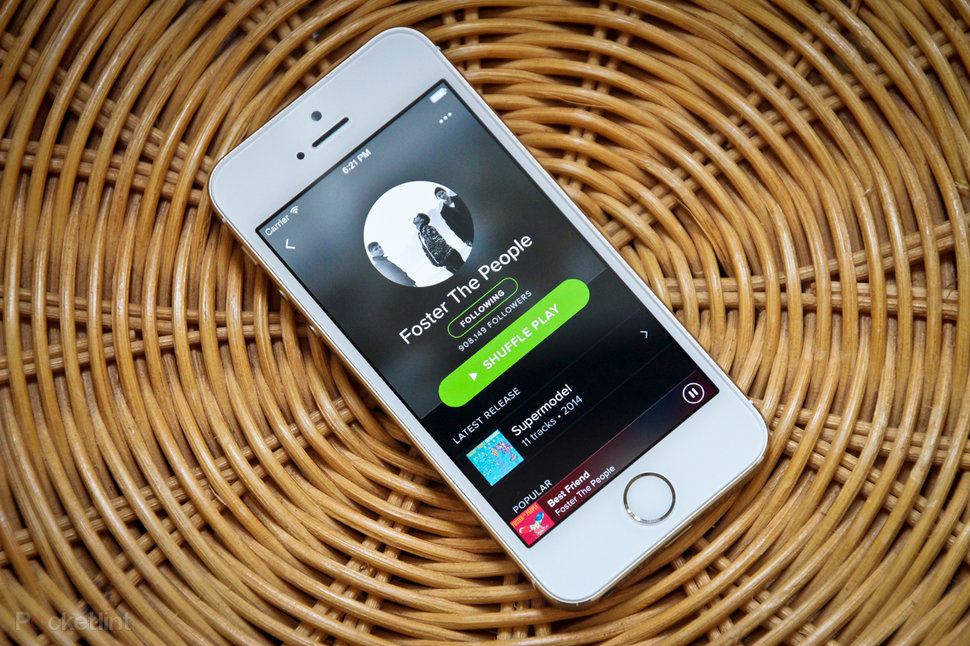 spotify embraces the dark side with new cross platform design adds your music too image 1