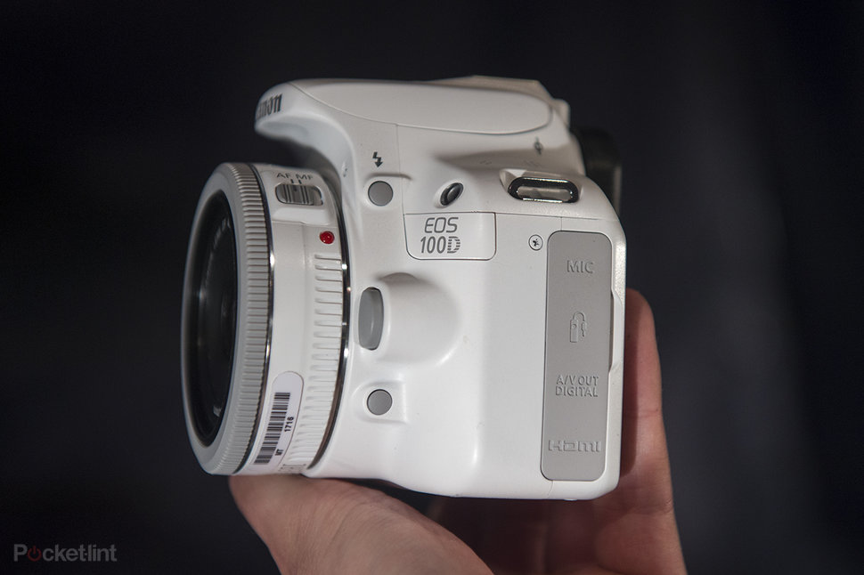 Canon EOS 100D White pictures and hands-on