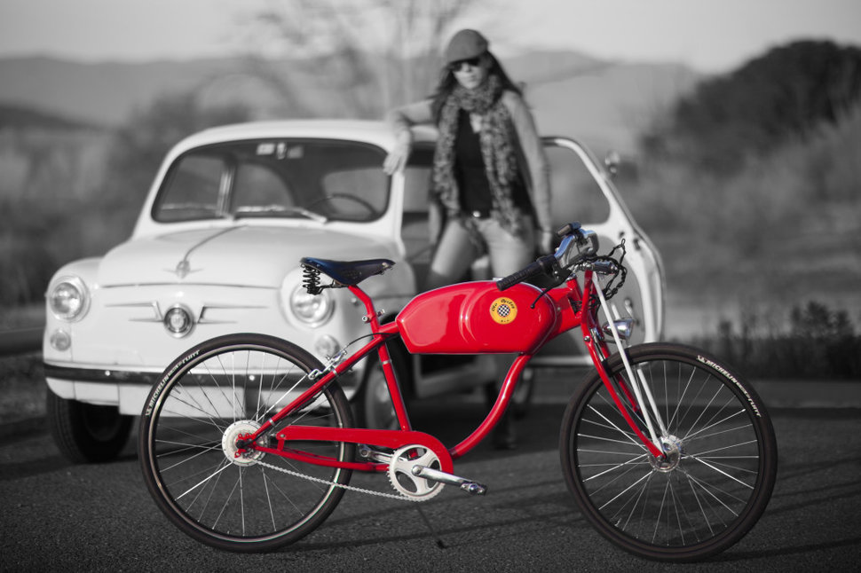 otocycles draws on touch of old and new for retro 50s style electric bikes image 1