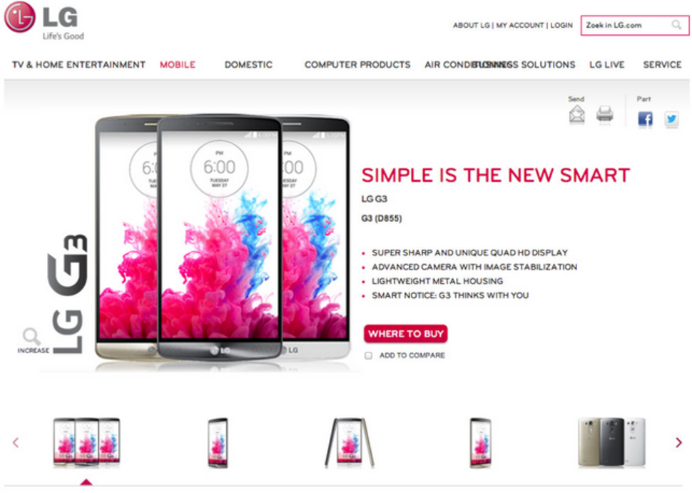 lg g3 flagship fully leaked by dutch lg website ahead of 27 may unveiling image 1