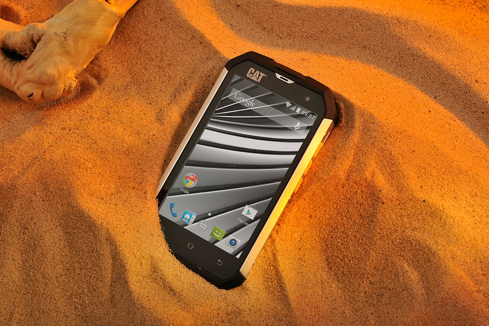 cat has launched the world's first globally available rugged kitkat toughphone the b15q image 1