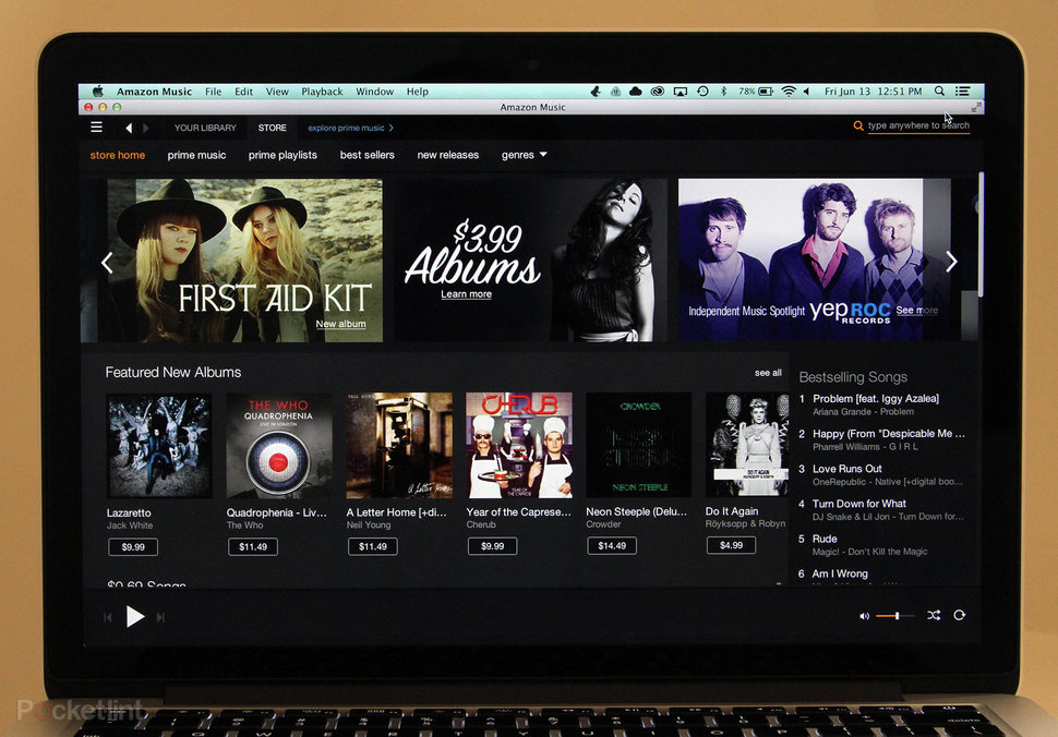 Hands-on: Amazon Prime Music streaming service (web, desktop, a