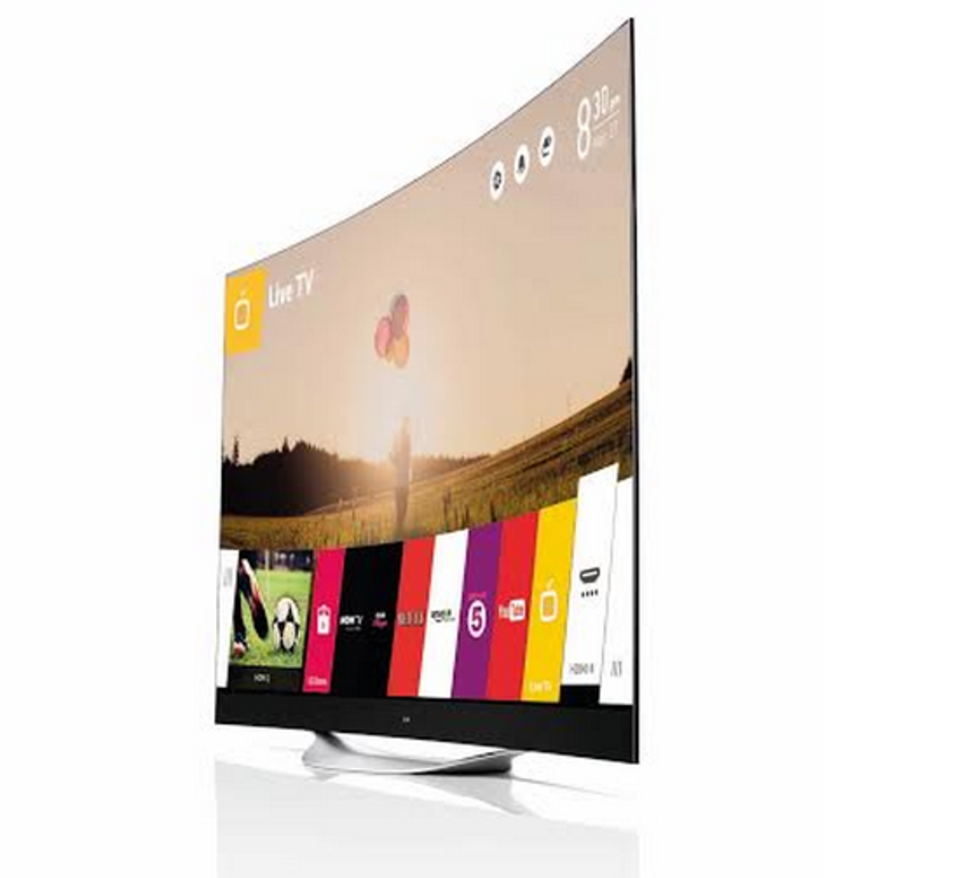 LG's 77- and 65-inch Curved 4K Ultra HD OLED TVs are coming to