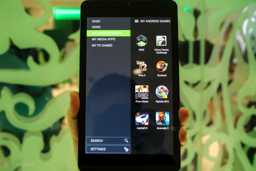 Nvidia Shield Portable Android Version