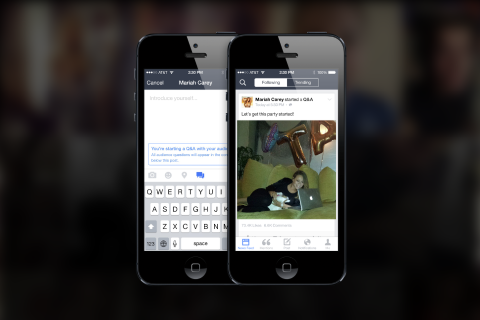 facebook caters to the rich and famous with new mentions app you probably can t use image 1