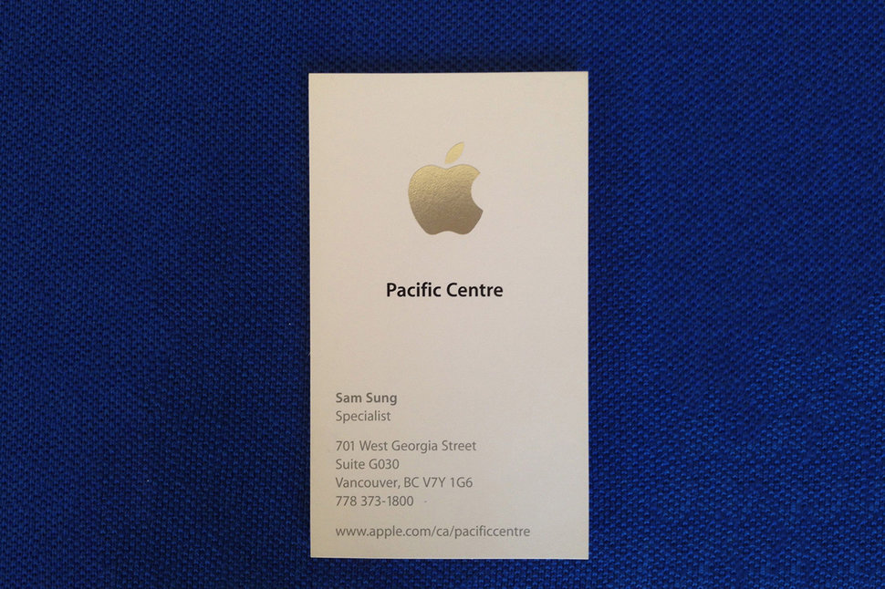 Best Apple employee name ever? Sam Sung... and now you can buy his ...