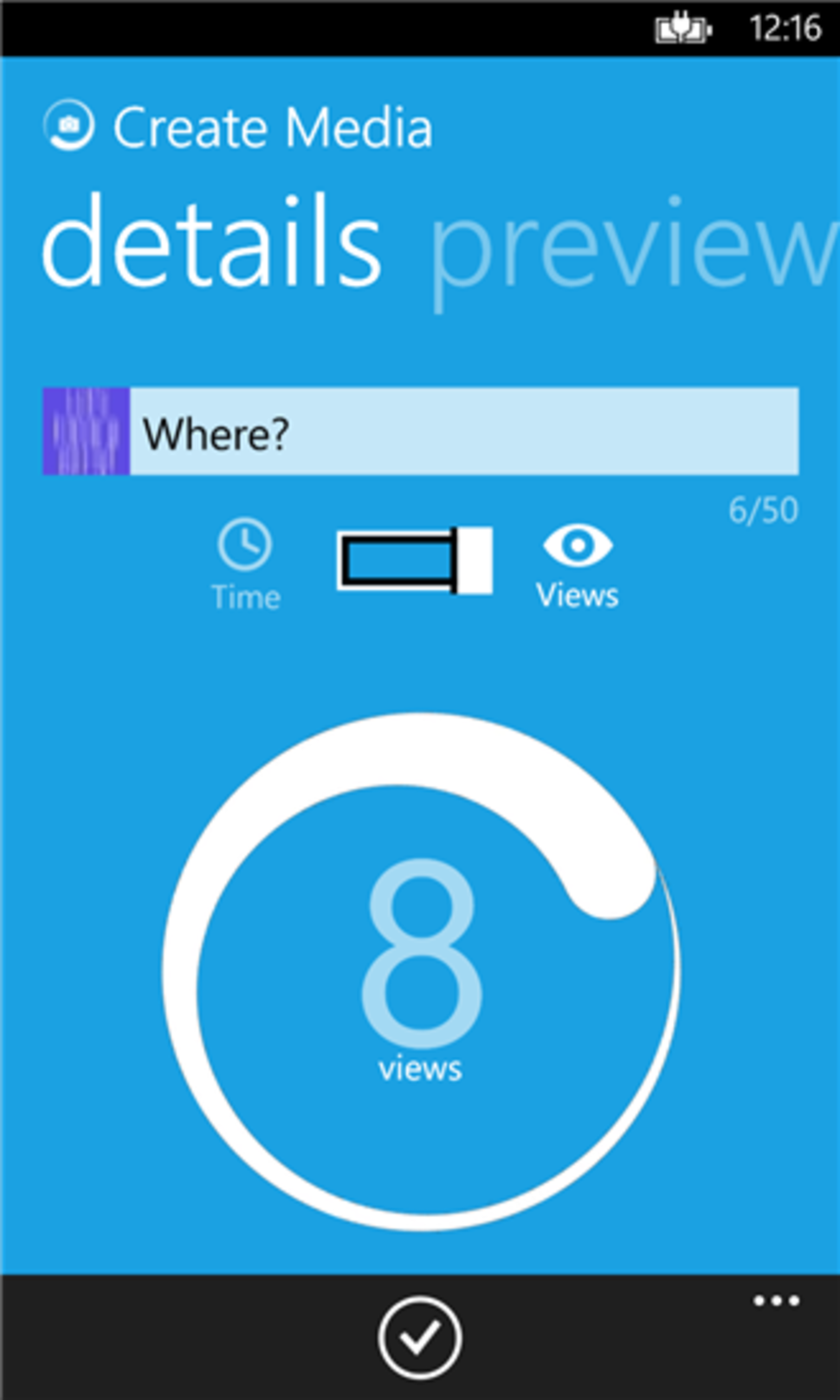 Now Microsoft has a Snapchat-like app for Windows Phone, called