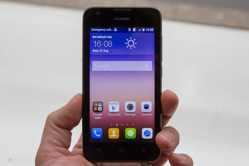 Huawei Ascend Y550 hands-on: The 4G phone for all - Pocket-lint
