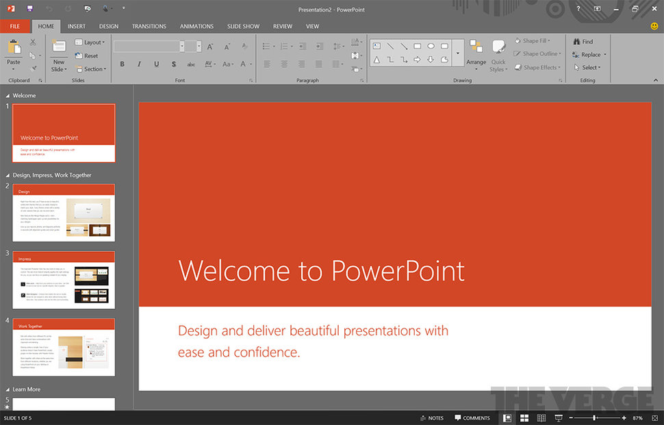 microsoft office 16 goes dark if these leaked screengrabs are anything to go by image 1