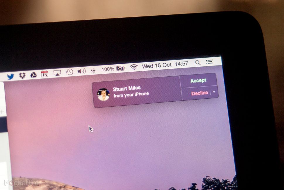 os x yosemite continuity and handoff review you can put your phone away but not completely image 1