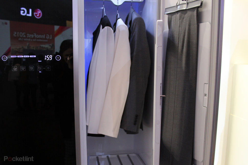 lg styler will freshen your clothes to save washing and ironing