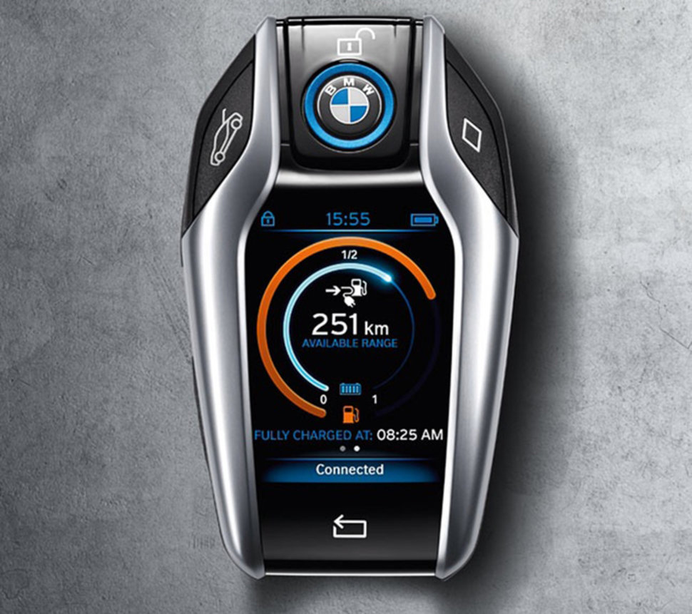 Bmw Touchscreen Display Key Fob For I8 Is Finally A