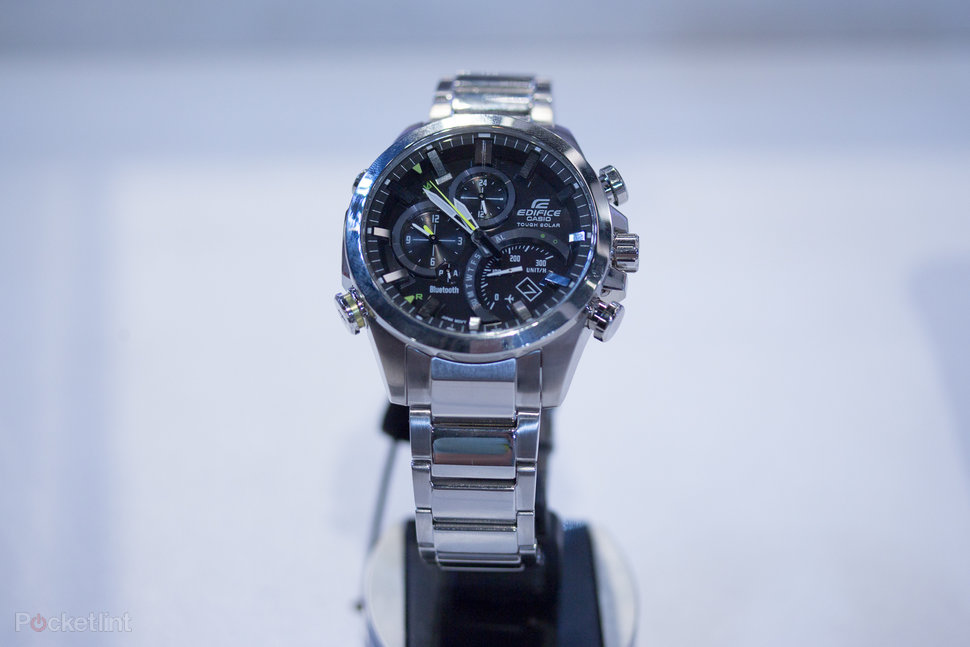 ad0eb482634b casio edifice eqb 500 proves that bluetooth watches can look darn cool  hands on image 1