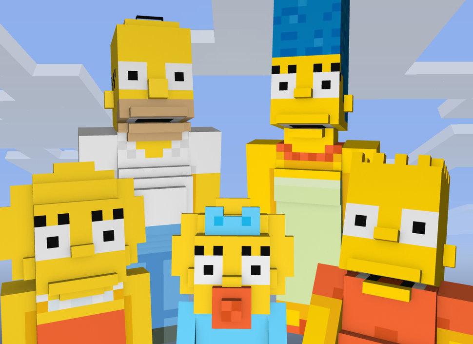 Best Minecraft skins in pictures: The Simpsons, Doctor Who ...