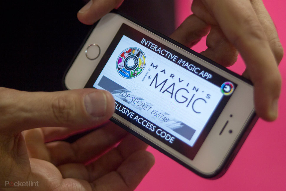 become a modern day magician with marvin s i magic for iphone and android hands on  image 1