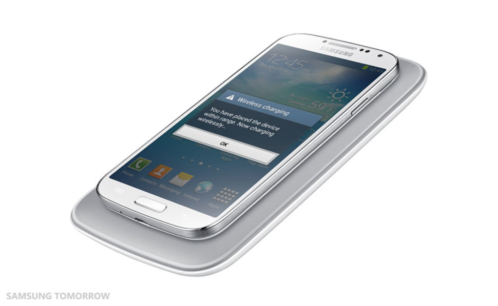 Non-removable battery on the SGS6? Samsung's wireless charging